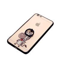 Zebra Hardcase mit Ring Halter für iPhone 8 / 7 Schutzhülle Cover Bumper Schale