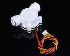 "G1/4"" Water Flow Hall Sensor Switch PE Pipe Flow Meter Flowmeter Counter 3.5-12V"