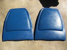 1972 CHRYSLER NEWPORT BLUE SPLIT BENCH SEAT BACKS NEW YORKER 300 IMPERIAL