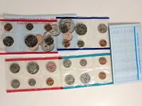1969 and 1994 US Mint Uncirculated Coin sets 20pcs