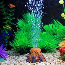 Aquarium Bubble Air Stone Aerator Fish Tank Air Pump Diffuser Volcano Type Decor