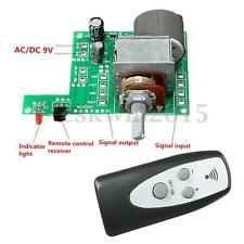 9V Infrared Remote Control Volume Control Board ALPS Pre AMP Motor Potentiometer