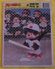 The Original MONCHHICHI FRAME-TRAY PUZZLE 1981 U.S.A.