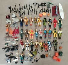 G.I. Joe, GI Joe – Huge Lot of ARAH, Vintage O-Ring Action Figures & Accessories