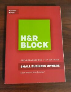 2016 H&R Block Small Business Owners Premium & Business Tax Windows