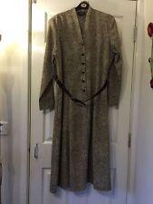 Full Length Long Sleeve Regular Spotted Dresses for Women
