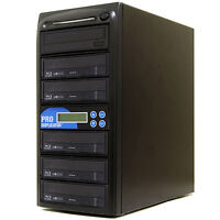 ProDuplica​tor 5 Burner Blu-ray BDXL MDisc CD DVD Drive Duplicator Writer Tower