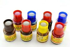 Set of 8 Partially Used Rotring Drawing Inks - Various Colours See Photo #W15-10