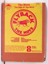 THE MOVE Flyback: Best Of 1st UK 8-Track tape in art sleeve EX+ > ELO, Roy Wood