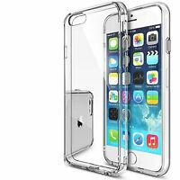 Clear Transparent Gel Case & Screen Guard For iPod Touch 6 6G 6th Generation Gen