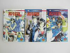 LOT 3 MANGA PLAYER COLLECTION YOU' RE UNDER ARREST TOME 2 4 5 / NO INTEGRALE