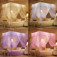 Lace Encryption Bedding Canopy Netting Princess Mosquito Net Full Queen King