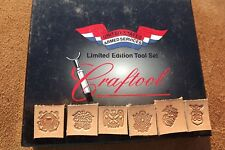 LEATHER TOOLS/* TANDY CRAFTOOL LIMITED EDITION MILITARY SET OF SIX