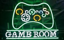 "New Arcade Game Room Neon Light Sign 24""x20"" Lamp Poster Real Glass Beer Bar"