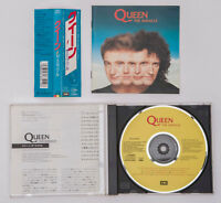QUEEN The Miracle CP32-5839 ZP28-5839 w/Obi Book 1988 JAPAN CD Freddie Mercury