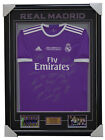 Real Madrid Signed Team 2017 Champions League Jersey Framed Ronaldo Zidane Bale