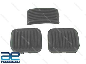 Fits For Willys Jeeps Brake Clutch & Throttle Pedal Rubber Set of 3 Unit ECs