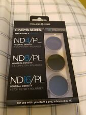 POLAR PRO GO CINEMA SERIES PHANTOM 3 EDITION FILTERS ND4 PL 8 16 4K