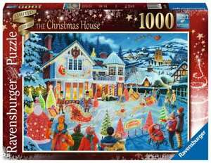 Ravensburger 1000pc Puzzle - The Christmas House 16849