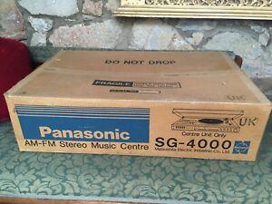 ORIGINAL PANASONIC PACKAGING BOX FOR SG-4000 TURNTABLE AM/FM STEREO MUSIC CENTRE