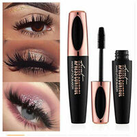 NEW 4D Silk Fiber Lash Mascara Eyelashes Waterproof Long Extension Long Last