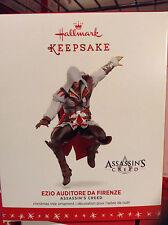 NEW~Assassin's Creed Ezio Auditore da Firenze Ornament~Hallmark 2016~Video Game