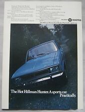 1969 Hillman Hunter Original advert