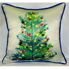 Betsy Drake Hj905 Christmas Tree Throw Pillow 18 x 18 in.