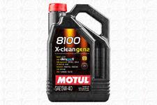 5 lt Motul 8100 XClean X-Clean Gen2 5W40 Olio Motore 100% Sintetico ACEA C3