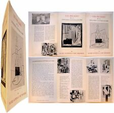 Picasso donation Cuttoli-Laugier Musée National d'Art moderne Leymarie Cassou