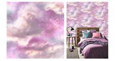 Arthouse Diamond Glitter Galaxy Cloud Pink Purple Wallpaper, 260009 SAMPLE ONLY