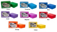 KATO POLYCLAY Polymer Clay Oven Bake 12.5 oz COLORS Red Blue Violet Yellow Green