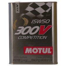 Motul 300V Competition 15W50 2 LITRI per AUTO DA COMPETIZIONE