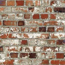 Multi rustikal rot 102538 Dachboden Ziegel Retro Muriva Tapete