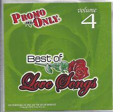 "PROMO ONLY- NEW! DVD 70s ~ 90s ""LOVE SONG VOL.4"" MUSIC VIDEO-Whitney,Barbra,"