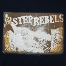 12 Step Rebels Men's XL T-Shirt Licensed Concert Tour Band Merch 2005