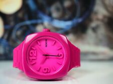 Nixon The Dial Watch in Pink New With Tags