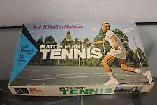 Cadaco Match Point Tennis Board Game - 1971 Version