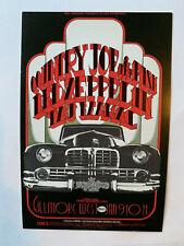 Led Zeppelin Country Joe Bill Graham #Bg 155 Fillmore West Post Card 1969
