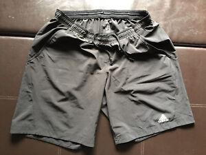 Mens Black Adidas Climalite Shorts XL.