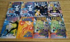 L.E.G.I.O.N. 1ST SERIES DC 1989 & LEGION OF NIGHT GRAPHIC NOVELS 44 COMICS
