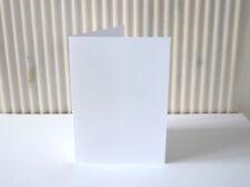 50 Doppelkarten/Klappkarten Grußkarten A6 reinweiß 200 g/m²