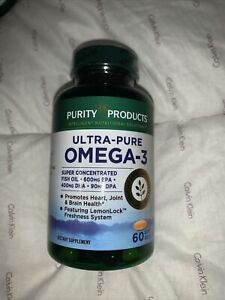 Purity Products Ultra-pure Omega 3