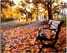 "Autumn Landscape16X20"" Paint By Number Kit DIY Acrylic Painting on Linen Canvas"