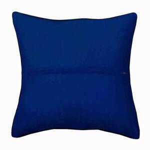 Dark Blue Orchidea Cushion back with zipper cushion back. Approx 40x40cm