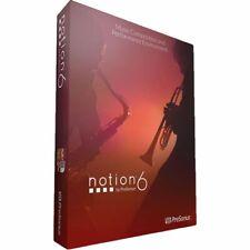 Presonus Notion 6 Music Notation Software: Compose, Arrange, Produce (Download)