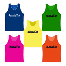 SPECIAL PACKAGE OF 5 ADULT SIZE PINNIES - TRAINING VEST IN 5 COLORS - $2.95 EACH