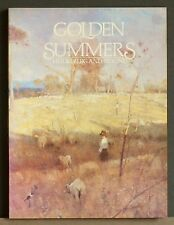 Golden Summers,  HEIDELBERG and BEYOND, Australian Paintings, Clark / Whitelaw.