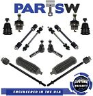 14 Pc Suspension Kit for Ford Mercury Tie Rod Ends w/ Bellow Boots Ball Joints
