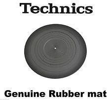 TECHNICS rgs0008 Giradischi Tappetino in gomma per sl-1200 sl-1210 Originale/Nuovissimo